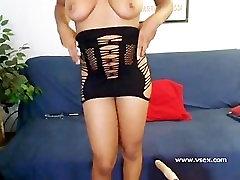 Ebony sex machine webcam with Imani Rose
