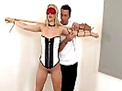 Blindfolded & boung by Master leads to Aleska Diamond&039s pure submission