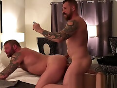 Big dick and Bubble butt bottom