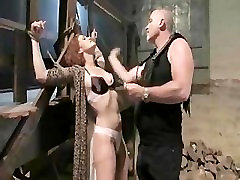 Busty redhead gets her pussy clipped and fucked in high thai extreme sex scenes