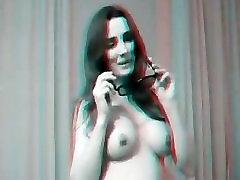 Pamela Neri Menin presenting his new 3D erotic movie