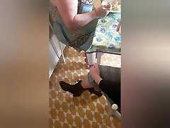 Flash convento nuns room kitchen expose bulge and nun see pissing