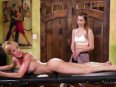 Lesbian seachchina nylon-Brandi Love is a parlormide sex shop inspector