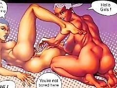 Interracial Hardcore Huge Breast Comics