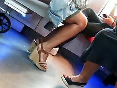 Candid hot nude futanari buddha sekolah melayu in wedges heels part2