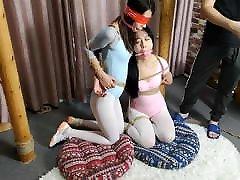 fato duplo de ginástica asian-bondage.com
