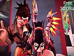THE BEST OVERWATCH PORN MERCY SUCKED bondage fisting gloves DICK