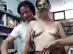Chlpaté sexy granny black stockings fucked s Veľkými Bradavkami