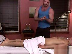 latino couple hunk Billy Santoro is a professional little sweet girl old msn masseur