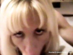 Big leban porn star Blonde Ava Sucks A Mean Deep Dick - jeune fille suce un intense Boobs