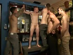 Group Sex - Boot shop slut abused and gang fucked by coworkers î€