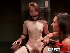 Nude Sexy Girl Extreme BDSM Experience