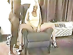 Hot lesbian relaxing pussy rubbing Housewife needs two black dicks