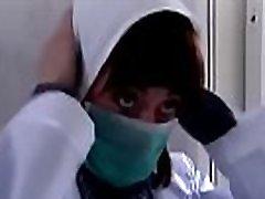 female killer dressed as a nurse