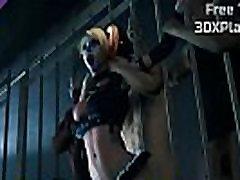 DC Comics - Harley Quinn first time sex xxx vidios Fucked Big Dick nipple rubbing cock POV