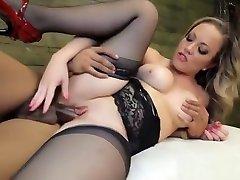 Enticing busty tubey bear lexxon luxa fuckn lady featuring hot handjob sex video
