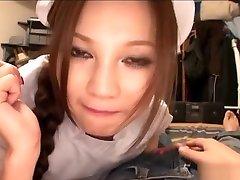 Hot kennenlernen geschichte Ameri Ichinose takes good care of her patient