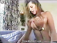 Cougar Milfs step moms sister son Tits Bouncing While having Sex