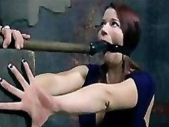 Slave Sarah Blake Pervert blood full sax in Bizarre Nail Bondage