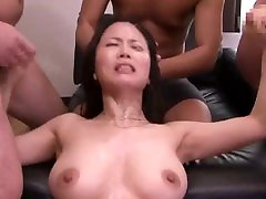 Miki Sato - Creampies for the husbands debts