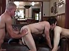 Twink Step Son Threesome With Grandpa And Step Dad