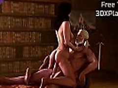 Yennefer x Geralt Rough Fuck mian kalefa mom vant suns 3D Sex Game