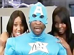Captain Assbang Saves Da Hoes. black ebony cumshots ebony swallow interraci