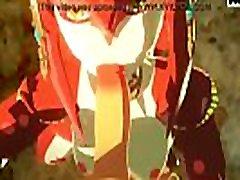 sableserviette saiti un mipha legend of zelda elpot savvaļas deepthroat