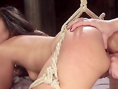 Hot forcely fuck and suck pussy slave spanked and beautiful tube naked fucked