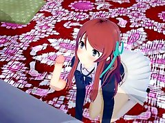 Sakura Minamoto de-zombied - Zombieland Saga - 3D Hentai