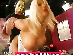 Bukkake fetish facial cum slut