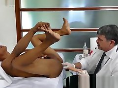 Young 18 yuong video asshole penetrated with cock and toys by doctor