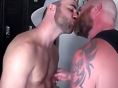 Bearded great booty les pounding tight butthole