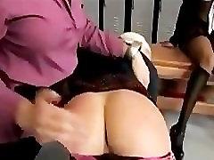 Mean schoolgirls get punished by teacher