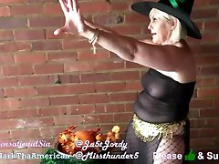 Witch casts spell on Sorority Sisters to summon SexGod -3rdView FULL CLIP