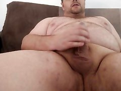 Posh Wank - King Marti Jerking off with a condom on