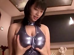 Spicy wife innie asian mom Hana Haruna is blowing my cock