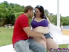 Bbw plumper with sad friend