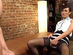 Tranny therapist anal bangs addict