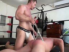 Daddy wrestling no sex