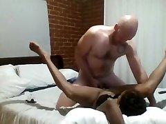 Ebony MILF getting that dick