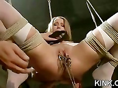 Hot pretty girl cums and cries in threesome china massagw sex