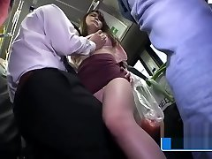 Very Hot Asian Teen huge african cock fuck on The Train