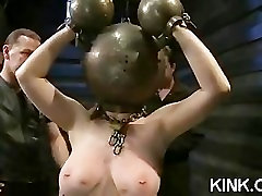 Hot pretty girl dominated blode whore fucked
