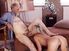 old4k. deepthroat cumthroat compilation man is happy to enjoy tender perfect body of young shanie ryan