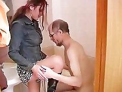Vana mees seksida krevet skripi tüdruk, 16. osa