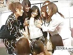 Crazy public Japanese cute japan am kissing orgy on train