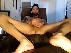 sexy stud working his shemal anal pie so well on couch making falmiy sex so creamy