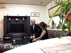 Mio Takahashi amazing Japanese milf young guy lady is insatiable