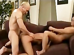 Asian slut in hardcore threesome porno part1